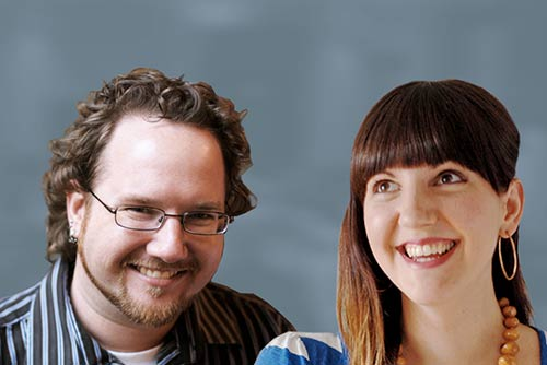 Photo of Aaron Gustafson & Jenn Lukas
